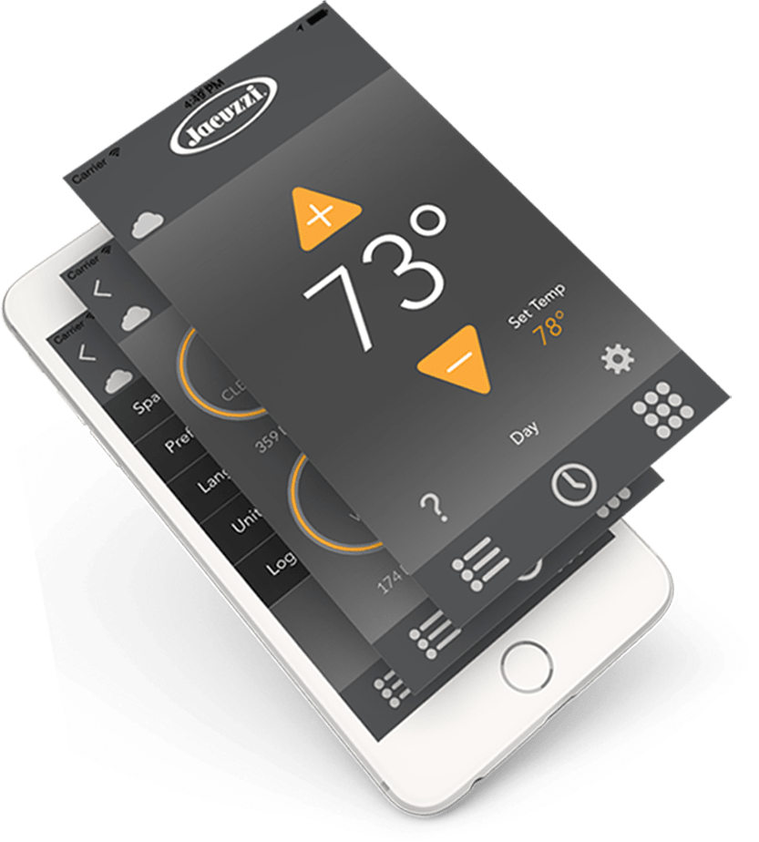 iPhone Internet of Things App for Jacuzzi
