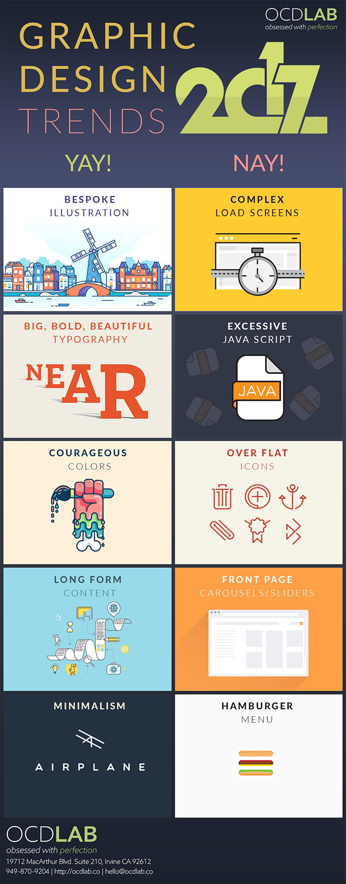 infographic design trends 2017