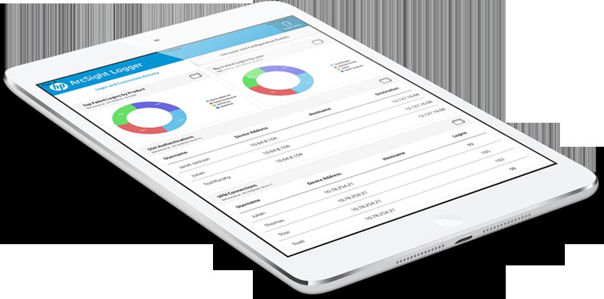 HP app in Tab image